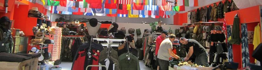 Comrades Army surplus store